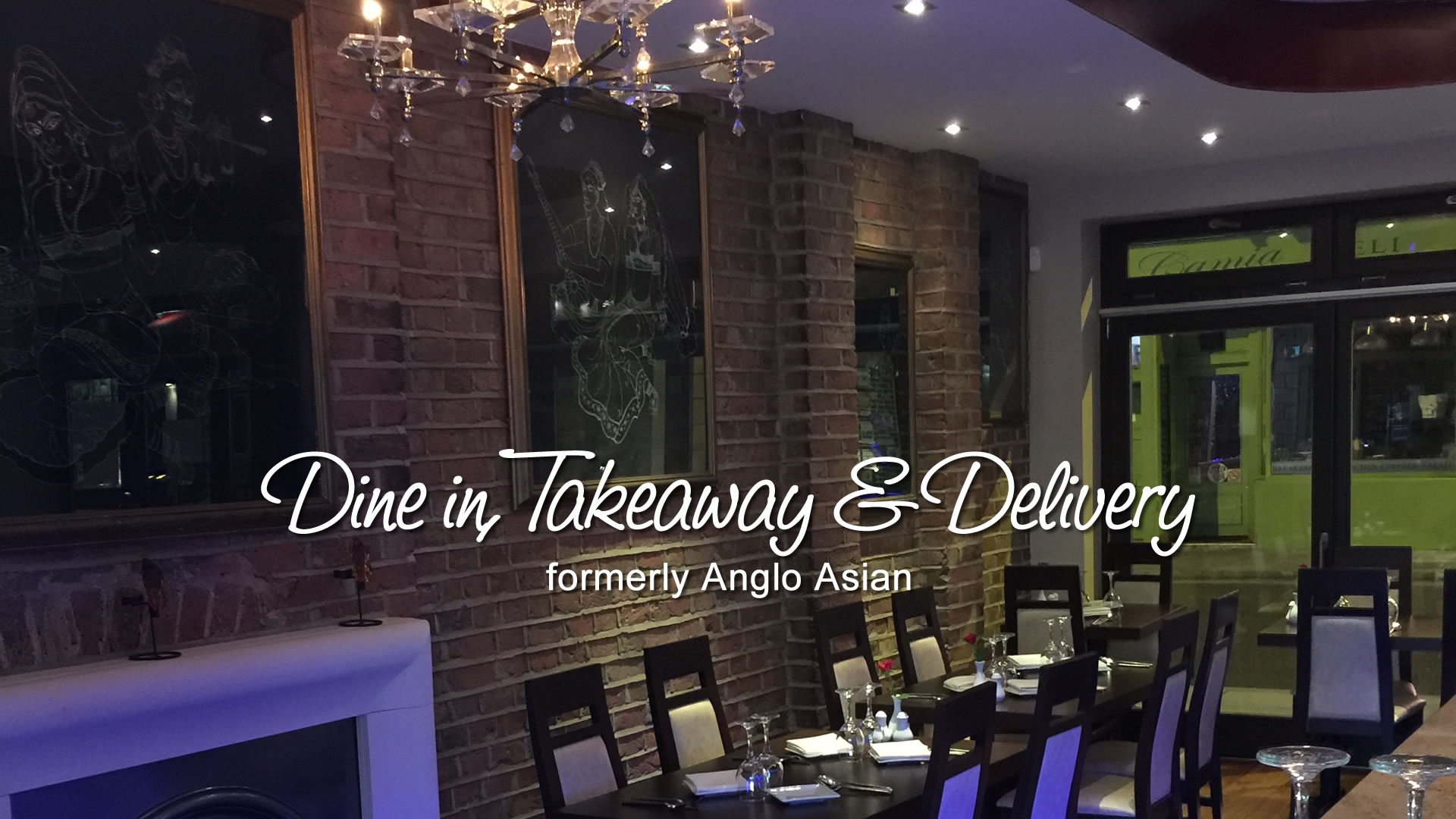 Dine in, Takeaway & Delivery