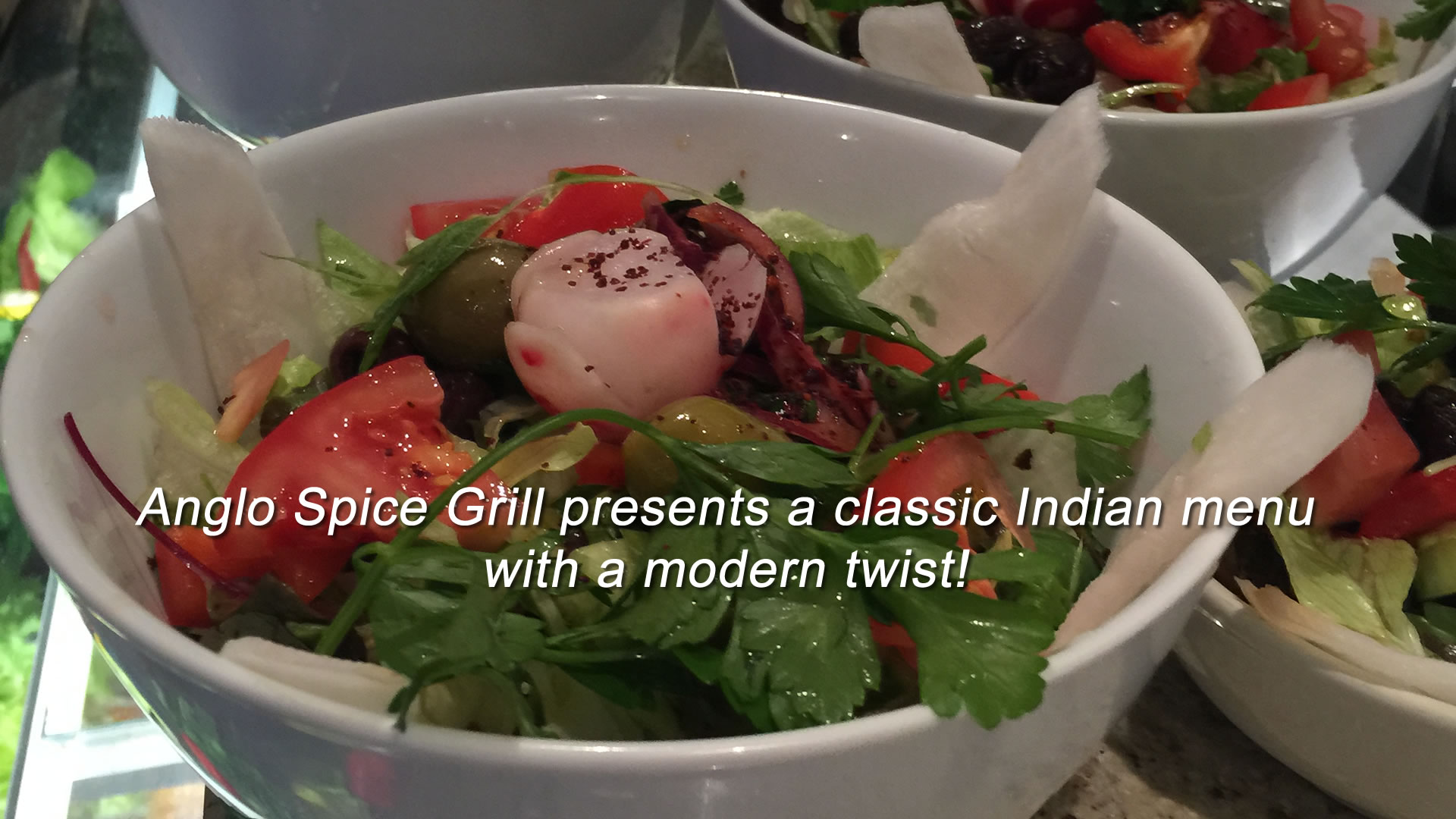 Anglo Spice Grill presents a modern Indian menu with a Turkish twist!